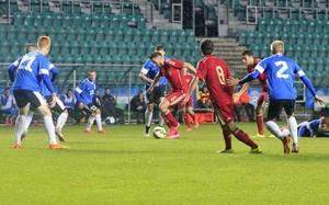 España ganó en Estonia