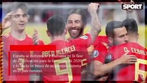España vence en Rumanía
