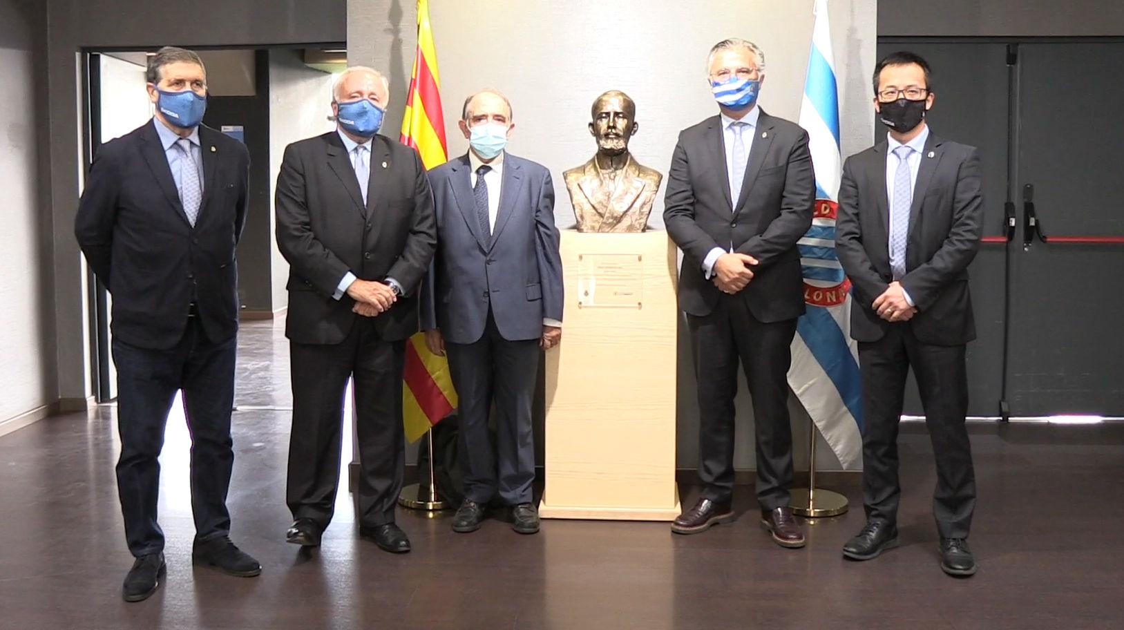El Espanyol celebra su 120 aniversario con un homenaje a su fundador