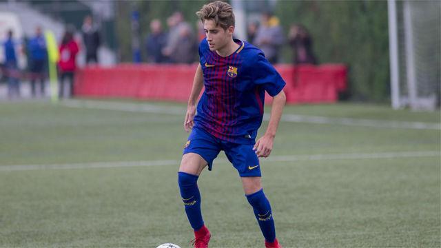 La espectacular jugada de Robert Navarro con la selección sub-16