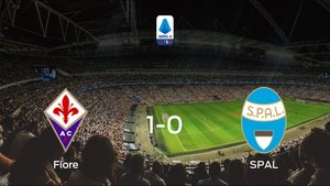 La Fiorentina derrota en casa al SPAL por 1-0