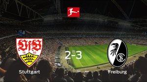 El SC Freiburg vence 2-3 en el estadio del Stuttgart