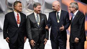Gianni Infantino, elegido nuevo miembro del COI