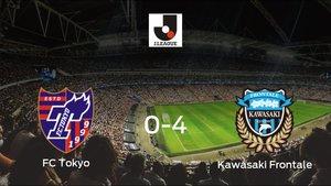 Goleada del Kawasaki Frontale por 0-4 ante el FC Tokyo