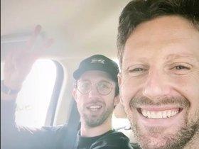 Grosjean ha abandonado el hospital de Manama
