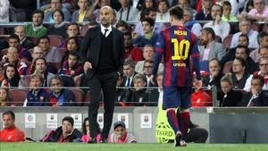 Guardiola negó que el City pujara por Leo