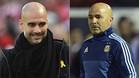 Cumbre entre Guardiola y Sampaoli en Manchester