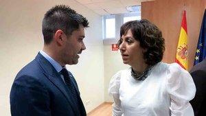 Irene Lozano apuesta por la profesionalización del fútbol femenino