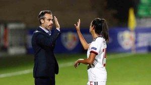 Jorge Vilda es el seleccionador español femenino