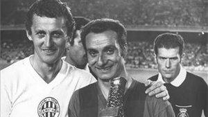 Josep Maria Fusté, la noche del 30 de agosto de 1972, cuando el de Linyola dijo adiós a la afición azulgrana