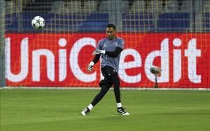 Keylor Navas reapareció ante el Borussia Dortmund