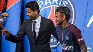Al Khelaifi invitó a Neymar a replantearse su futuro