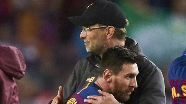 Klopp: En estos momentos, Messi es imparable