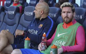 Leo Messi ya es el quinto jugador que más marca siendo suplente