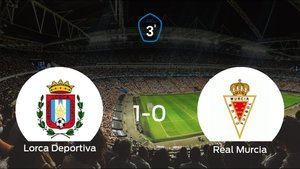 El Lorca Deportiva vence 1-0 en su estadio frente al Real Murcia B