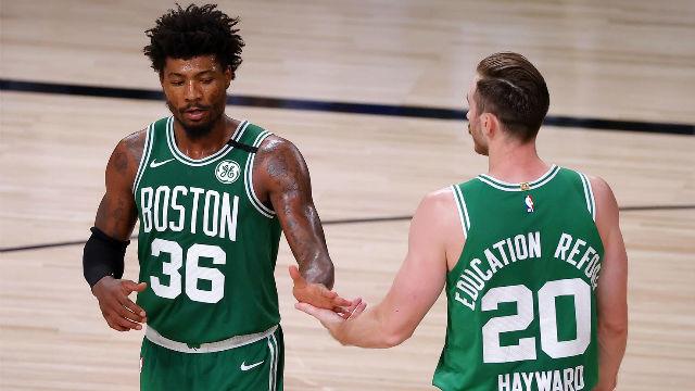 Los Celtics se colocan 2-1 en el resurgimiento de Hayward