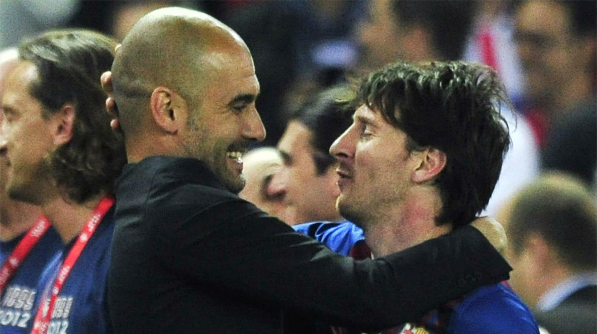El mayor halago de Guardiola a Messi