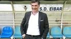 Mendilibar, durante su presentación como nuevo técnico del Eibar