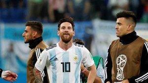Messi, capitán de la selección de Argentina