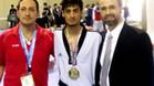 Mourad ganó una medalla en los europeos