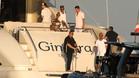 Neymar en la cubierta de un yate en la playa de Ramatuelle, el 7 de agosto dos días después de su presentación por el PSG