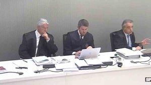 Pau Molins lideró la defensa de Rosell