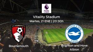 Previa del partido: el Bournemouth recibe al Brighton and Hove Albion