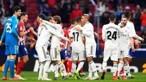El Real Madrid llegó a las primeras instancias de eliminación directa tras cuatro victorias y dos derrotas
