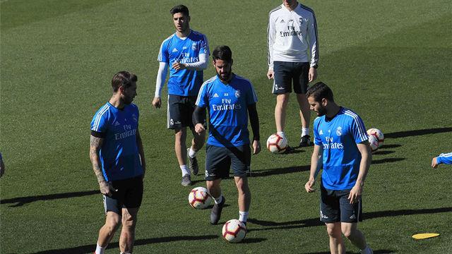 El Real Madrid se prepara para el primer partido de la nueva era Zidane