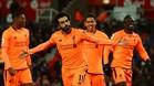 Salah, con doce goles, se consolida como el mejor goleador de la Premier