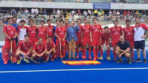 La selección española cayó en Australia