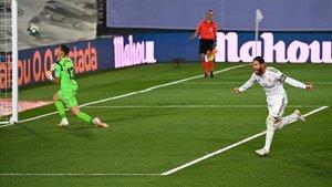 Sergio Ramos resolvió el Real Madrid - Getafe de penalti