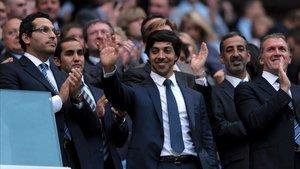 Sheik Mansour, dueño del Manchester City