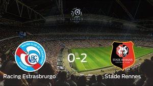 El Stade Rennes vence en el Stade de la Meinau al Racing Estrasbrurgo (0-2)