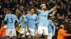 Tres partidos separan al City del primer título del año