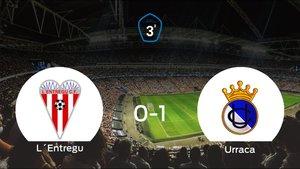 El Urraca CF vence 0-1 en casa del LEntregu