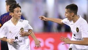 El Valencia derrotó al FC Barcelona en el último partido de la fase de grupos