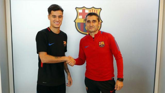 Valverde, con muchas expectativas con el fichaje de Coutinho por el club azulgrana