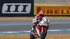 Van der Mark y la Honda en Superbikes