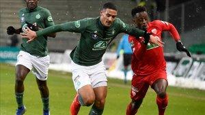 William Saliba ha empezado a destacar en el Saint-Étienne con solo 18 años