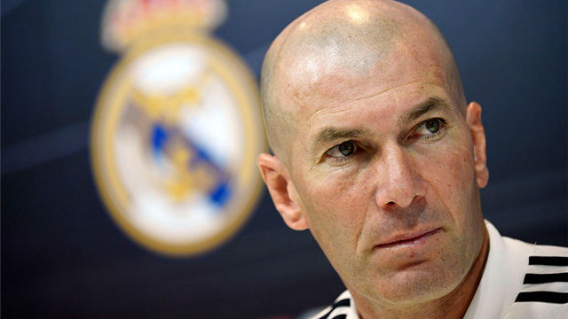 Zidane drops Courtois for first game back in charge — Real Madrid