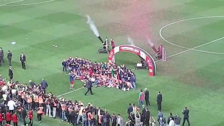El FC Barcelona, campeón de la Copa del Rey 2015/2016 y doblete