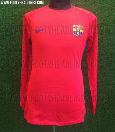 best website 7b1ee f5825 FC Barcelona's new goalkeeper shirt for the 2017/2018 season