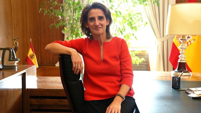 Entrevista a la Ministra Teresa Ribera