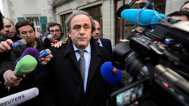 El abogado de Platini rehúsa hacer declaraciones