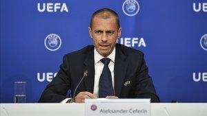 Alexander Ceferin, presidente de la UEFA