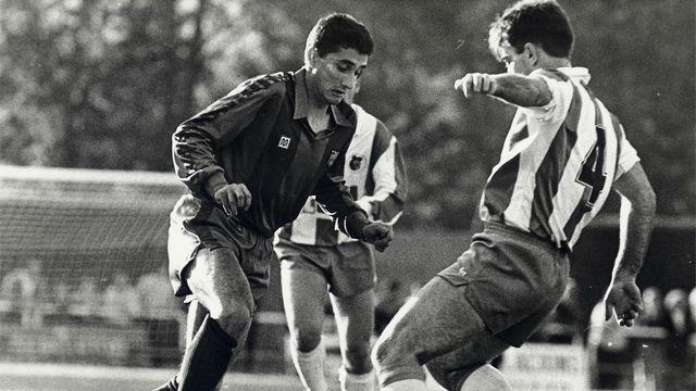 30 años de su debut como jugador: Así goleaba Valverde con el FC Barcelona