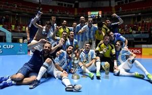 Argentina celebró por todo lo alto su histórico e inesperado título universal