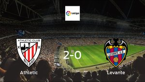 Athletic cruise to a 2-0 win over Levante at San Mames