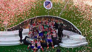 El Atlético de Madrid se alza con su tercera Europa League